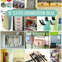 15 Clever Organization Ideas via Snap Creativity
