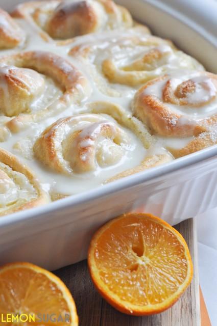 Easter brunch ideas - sweet orange rolls