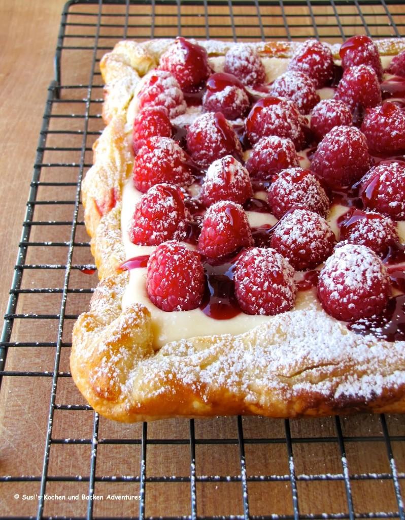 Rustic Raspberry Lemon Cheesecake Tart 2