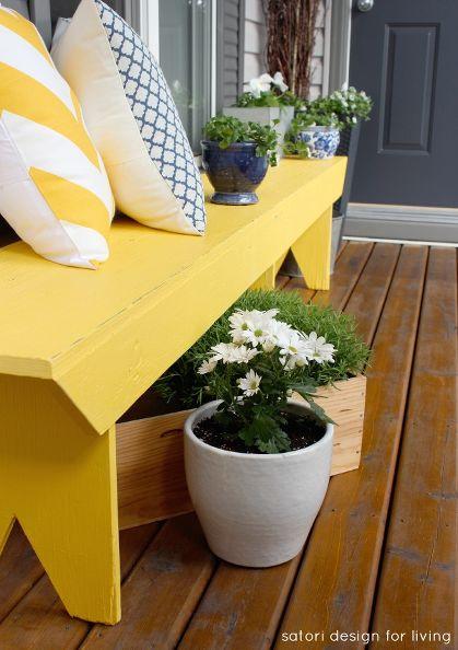 cottage charm spring porch