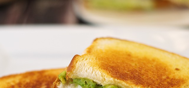 grilled avocado cheese sandwich