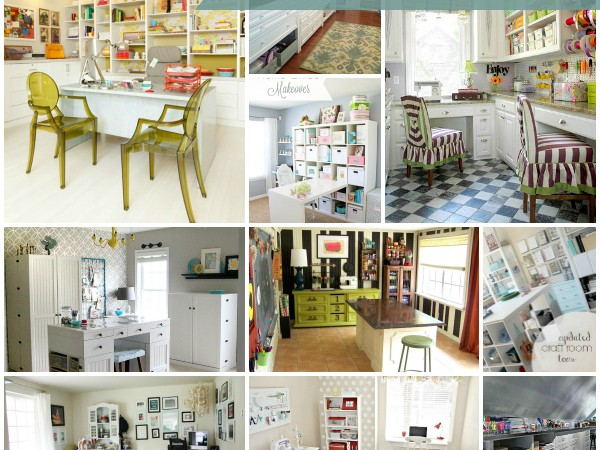 10 Super Cool Craft Rooms