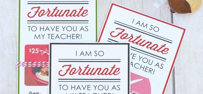 Teacher Appreciation Printables