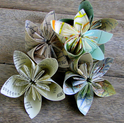 Paper flowers from book pages choice image flower decoration ideas 12 diy paper flowers tauni co folded paper flowers mightylinksfo mightylinksfo