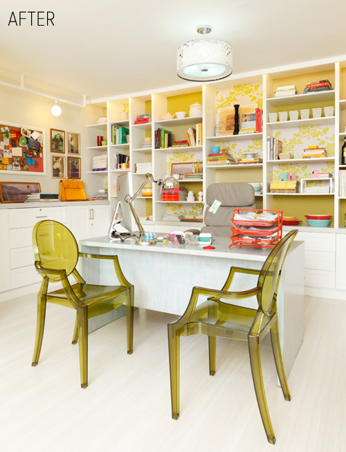 modern office craft room
