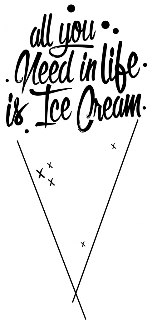 ice cream gift tag  free printable