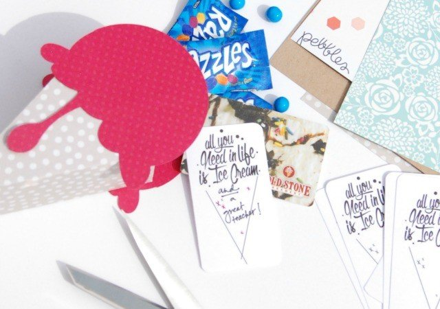 Ice Cream Gift Tag [Free Printable]