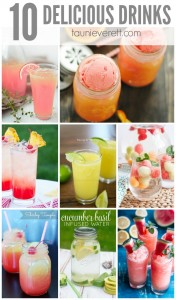 10 delicious family-friendly drink recipes perfect for summer.