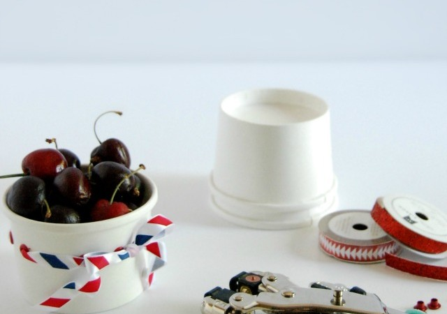 Fourth of July DIY Paper Party Cups