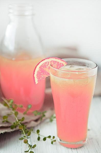 Peach lemonade recipe. Sounds delicious!