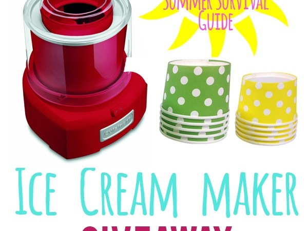 Ice Cream Maker Giveaway!