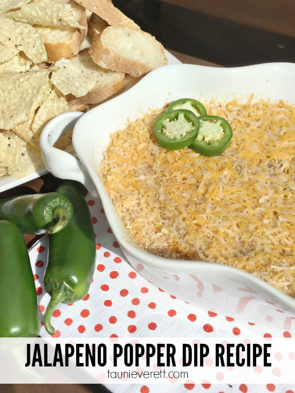 Jalapeno Popper Dip Recipe. This cheesy, flavorful dip is a crowd pleaser! I like to make a mild version, but it can be made with a real zip.