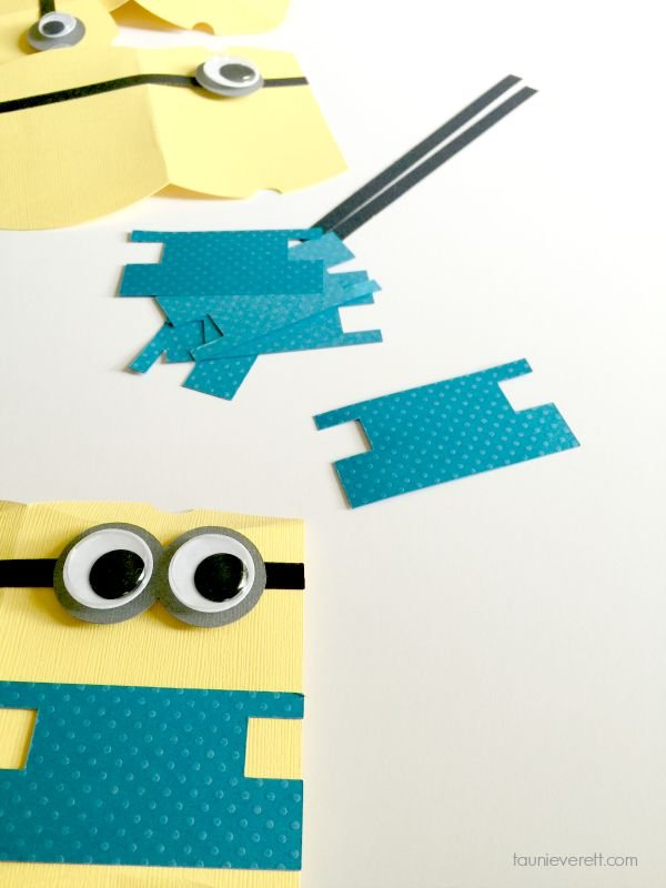 Minion Party Favor Paper Boxes. These are fairly simple to create and would be so fun to fill with candy!