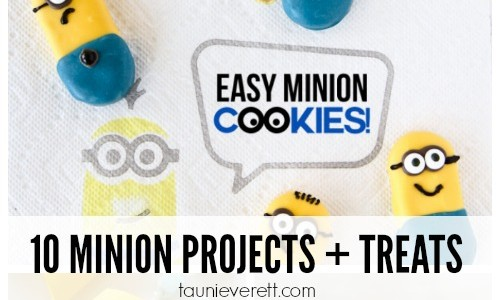Minion Projects and Treats Feature