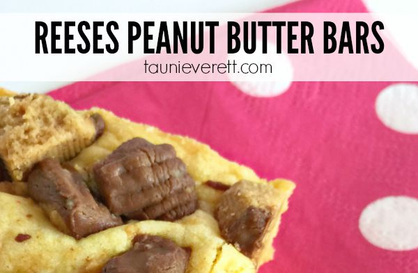 Reeses Peanut Butter Cup Bars Recipe