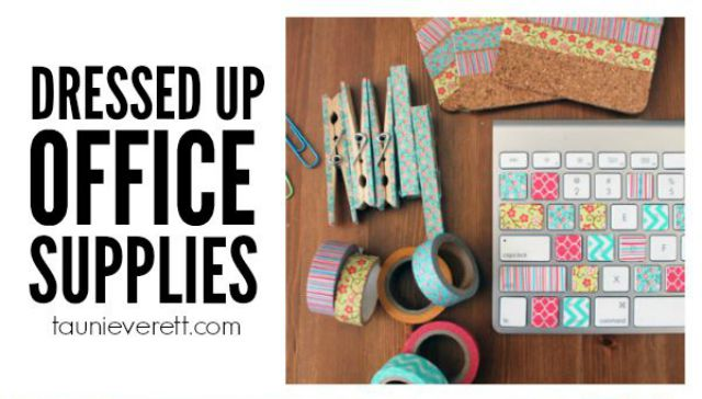 10 Chic School Supply Projects