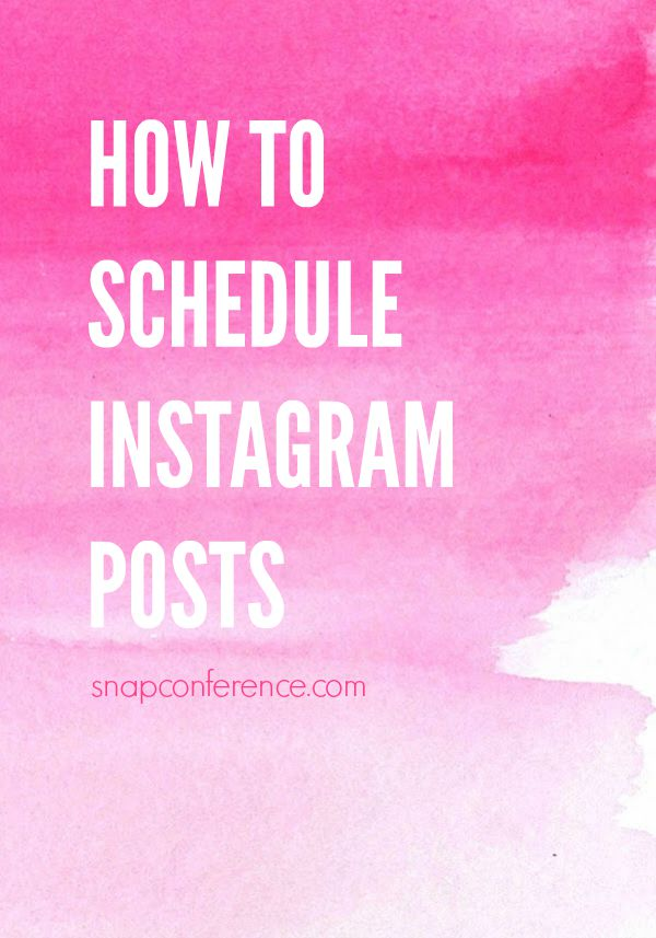 How to schedule Instagram posts. This is so helpful for bloggers + creative entrepreneurs working on a deadline.