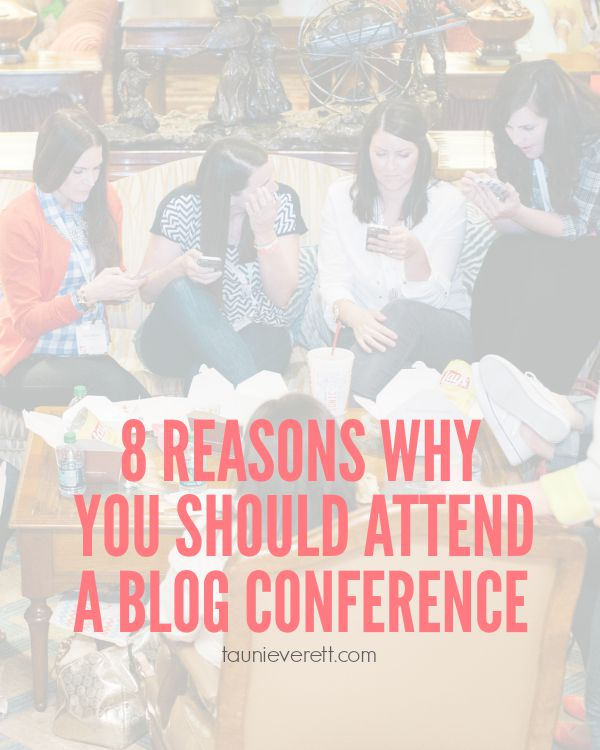 8 Reasons Why to Attend a Blog Conference