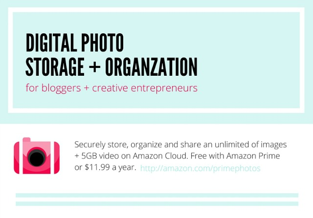 Digital Photo Storage for Bloggers + Creative Entrepreneurs
