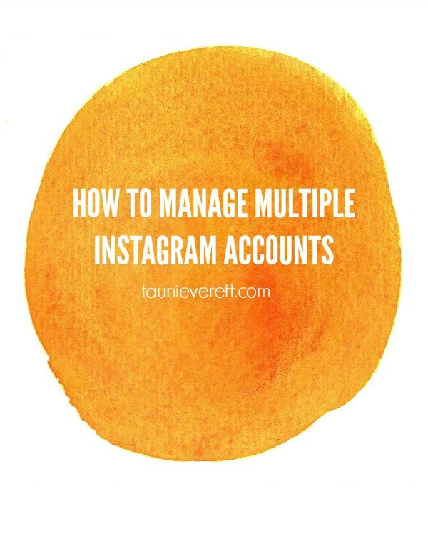 how to delete instagram accounts from phone