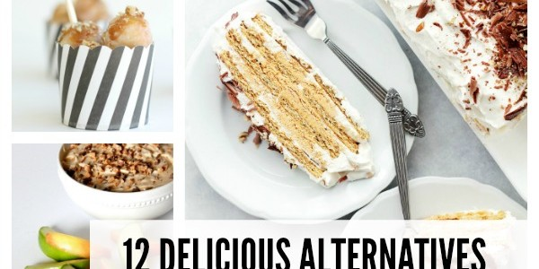 12 Delicious Dessert Alternatives to Thanksgiving Pie. We love our pie, but there are some really yummy looking fall desserts shared in this post!