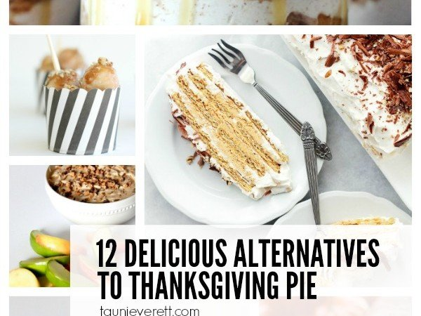12 Delicious Dessert Alternatives to Thanksgiving Pie