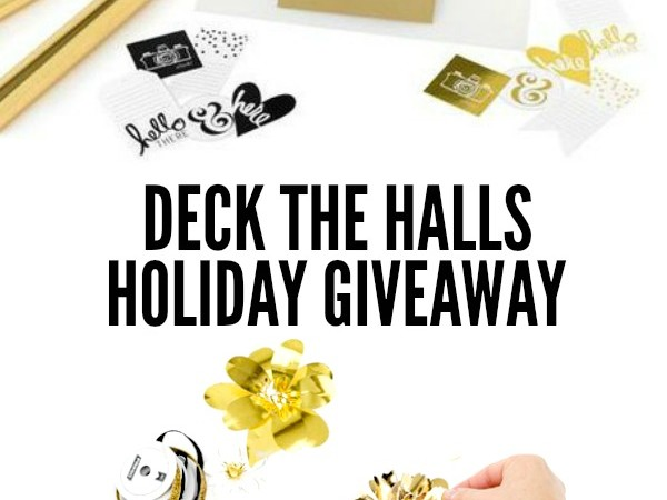 Deck the Halls Heidi Swapp Minc Giveaway