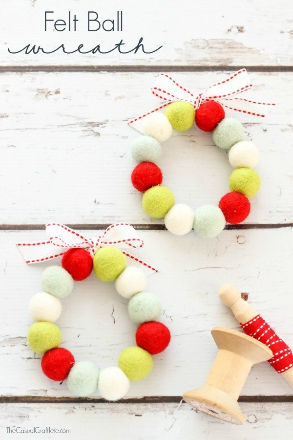 Felt-Ball-Wreath