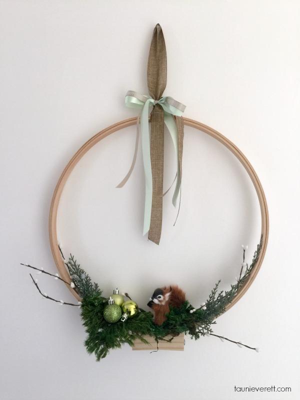 Modern Holiday Wreath Final