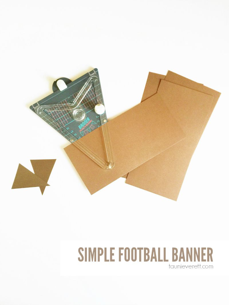 Simple Football Banner 800.1