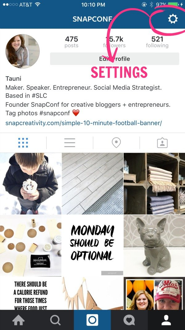 Learn how to manage multiple Instagram accounts from within the app. This is a game changer for people managing more than one account | via taunieverett.com