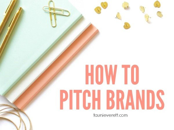 How to Pitch a Brand