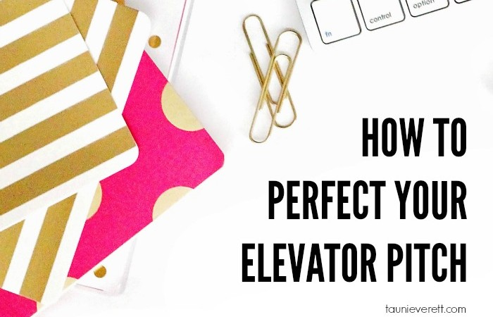 How to Develop the Perfect Elevator Pitch