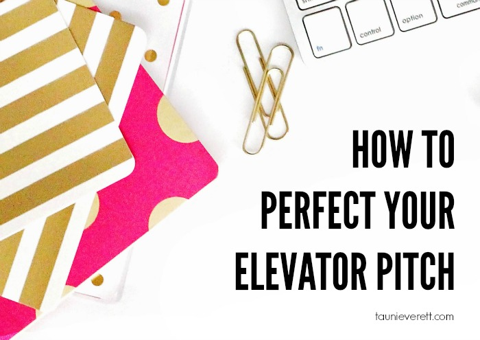 Perfect your elevator pitch feature