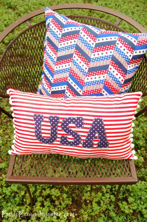 Red-White-and-Blue-Pom-Pom-Pillow-6