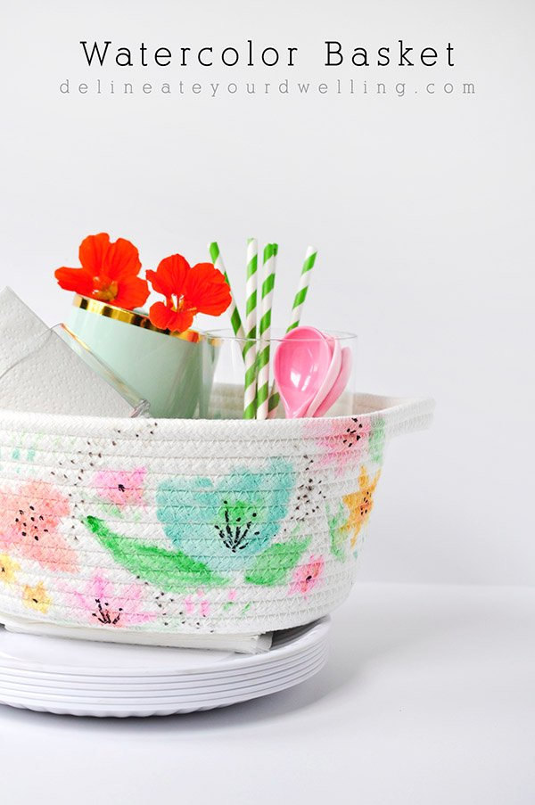 DIY-Watercolor-Basket