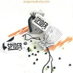 Along Came a Spider Printable Gift Tag