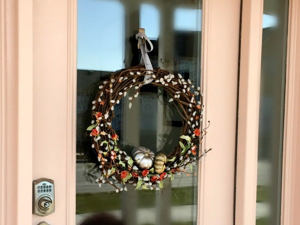 DIY Fall Pumpkin Wreath