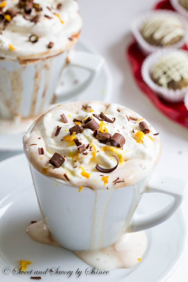 Orange Hot Chocolate Recipe
