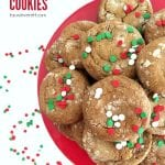 Soft chewy gingerbread cookies 3 1
