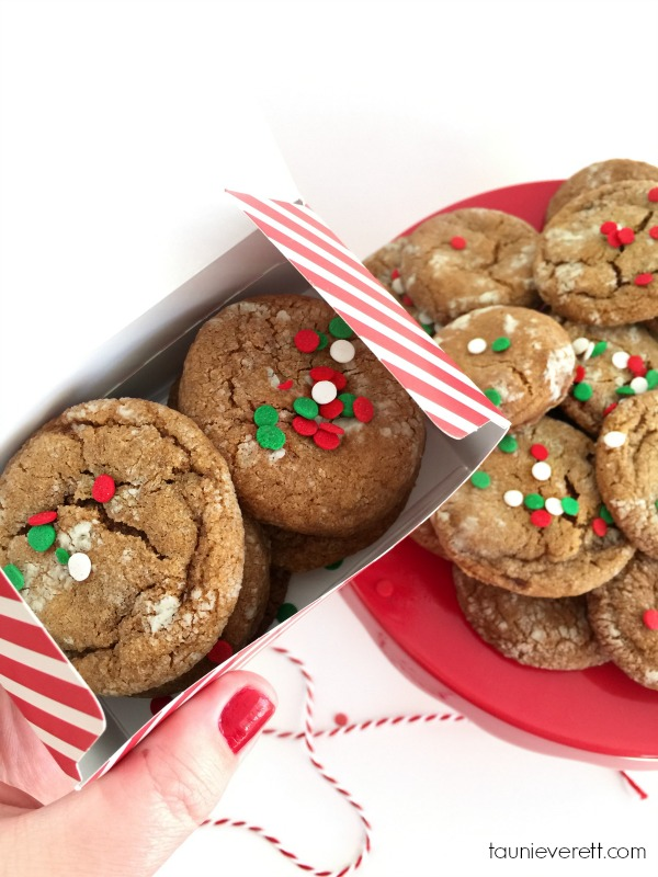 These soft, chewy gingerbread cookies are super-simple to make and require no molasses!