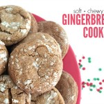 Soft, Chewy Gingerbread Cookies
