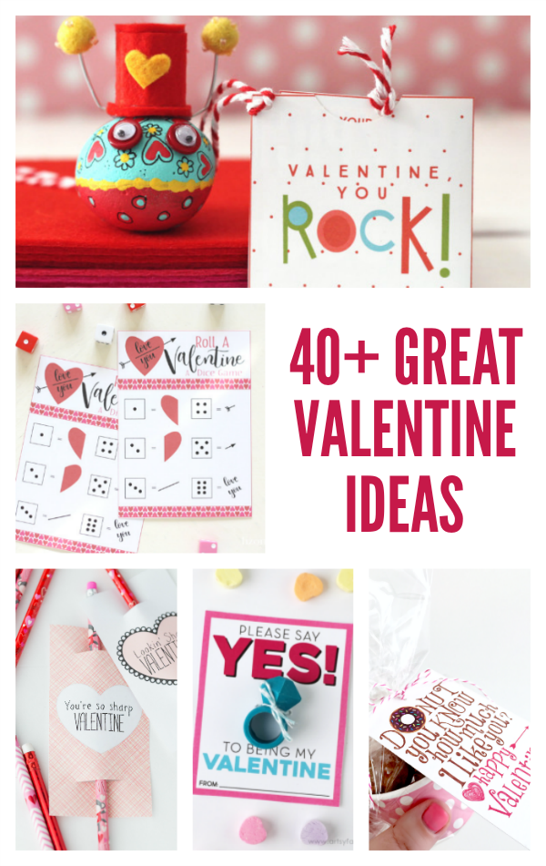 40+ Great Valentine ideas for the classroom, home decor and more!