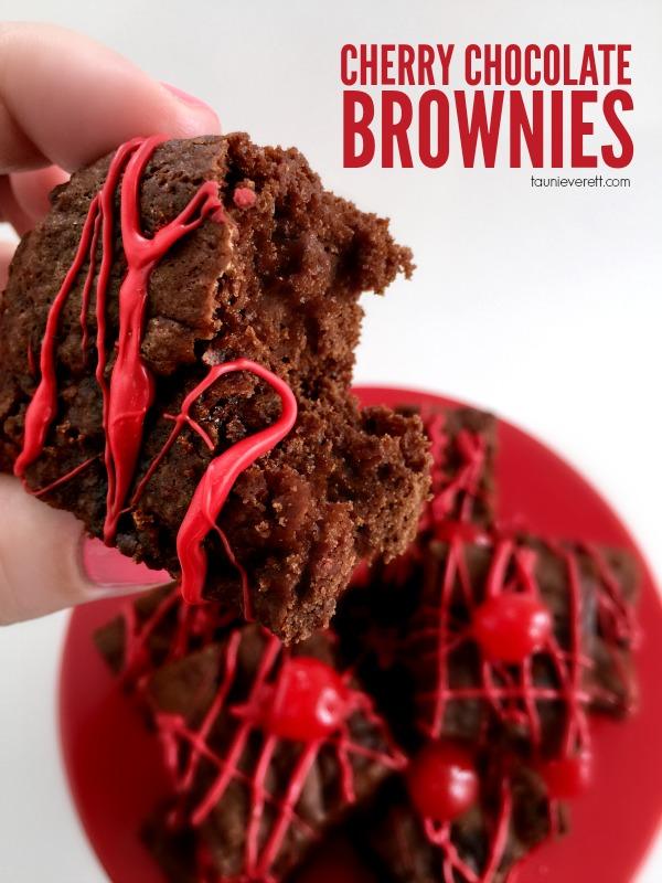 Cherry Chocolate Brownies Alt Hero