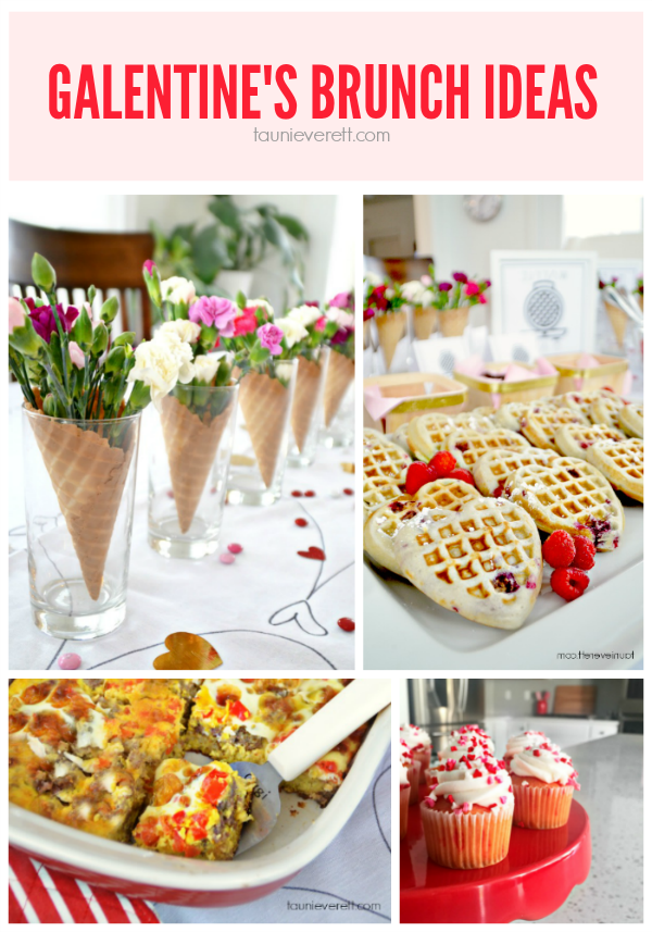 Galentine's Day Brunch Ideas. This sounds like so much fun!