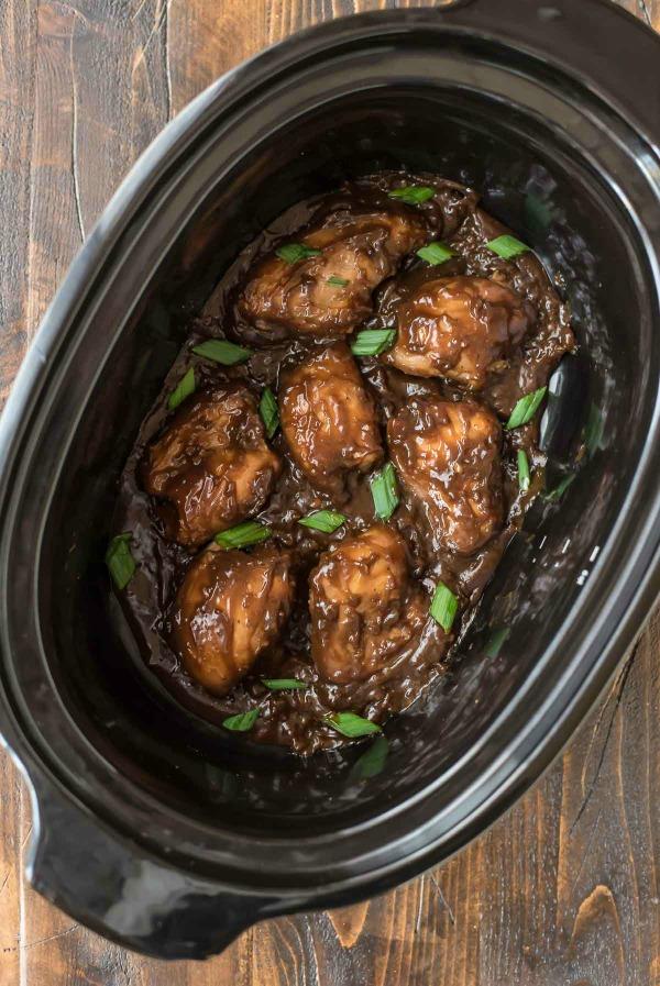 Slow Cooker Burbon Chicken + other Cajun recipes for Mardi Gras