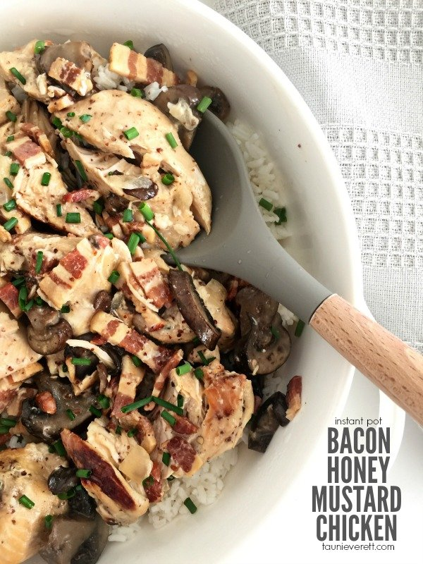 Instant Pot Bacon Honey Mustard Chicken