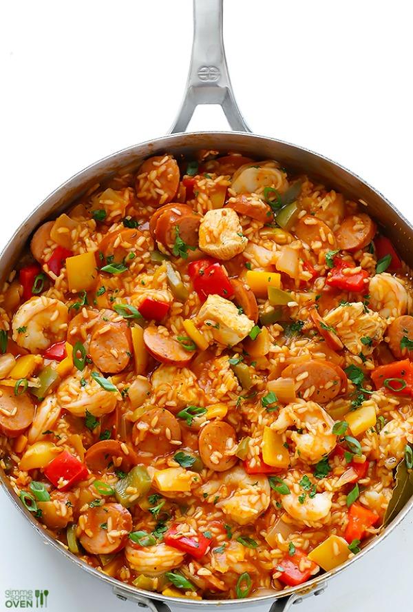 Jambalaya recipe, plus other great Cajun dishes for Mardi Gras