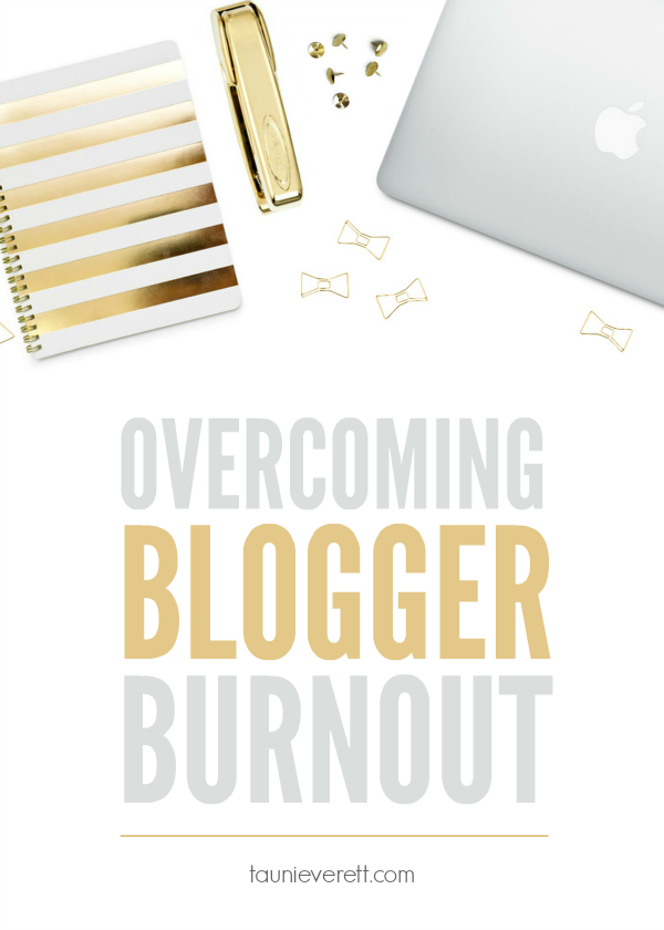 Overcoming blogger burnout