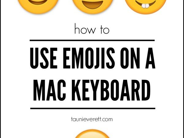 How to Use Emojis on a Mac Keyboard